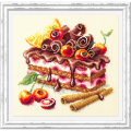 """Набор для вышивания """"Вишнёвый торт"""" """"Чудесная Игла"""""""