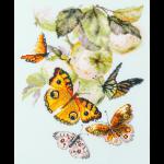 """Набор для вышивания """"Бабочки на яблоне"""" """"Чудесная Игла"""""""