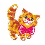 """Набор для вышивания """"Котик"""" """"Чудесная Игла"""""""