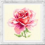 """Набор для вышивания """"Розовая роза"""" """"Чудесная Игла"""""""