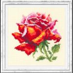"""Набор для вышивания """"Красная роза"""" """"Чудесная Игла"""""""
