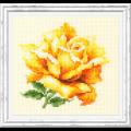 """Набор для вышивания """"Жёлтая роза"""" """"Чудесная Игла"""""""