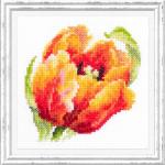 """Набор для вышивания """"Красный тюльпан"""" """"Чудесная Игла"""""""