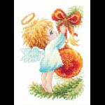 """Набор для вышивания """"Ангел Рождества"""" """"Чудесная Игла"""""""