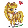 """Набор для вышивания """"Весёлая лошадка"""" """"Чудесная Игла"""""""