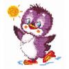 """Набор для вышивания """"Крошка пингвинёнок"""" """"Чудесная Игла"""""""