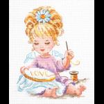 """Набор для вышивания """"Маленькая рукодельница"""" """"Чудесная Игла"""""""