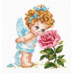 """Набор для вышивания """"Ангел нашего счастья"""" """"Чудесная Игла"""""""