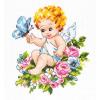 """Набор для вышивания """"Ангел нашей любви"""" """"Чудесная Игла"""""""