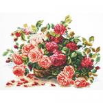 """Набор для вышивания """"Королевские розы"""" """"Чудесная Игла"""""""