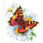 """Набор для вышивания """"Бабочка и ромашки"""" """"Чудесная Игла"""""""