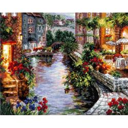 """Набор для вышивания """"Вечер в Венеции"""" """"Чудесная Игла"""""""