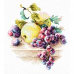 """Набор для вышивания """"Виноград и яблоки"""" """"Чудесная Игла"""""""