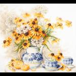 """Набор для вышивания """"Цветочный чай"""" """"Чудесная Игла"""""""