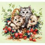 """Набор для вышивания """"Милые создания"""" """"Чудесная Игла"""""""