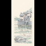 """Набор для вышивания """"The Harbour: Cobble quay"""" """"Derwentwater Designs"""" (Великобриатния)"""