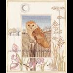 """Набор для вышивания """"Barn owl"""" """"Derwentwater Designs"""" (Великобриатния)"""