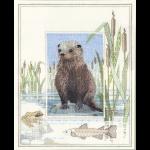 """Набор для вышивания """"Otter"""" """"Derwentwater Designs"""" (Великобриатния)"""