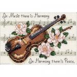 """Набор для вышивания """"Гармония музыки"""" """"Dimensions"""" (США)"""