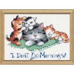 "Набор для вышивания ""Не люблю утро"" ""Dimensions"" (США)"
