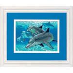 """Набор для вышивания """"Глубоководные дельфины"""" """"Dimensions"""" (США)"""