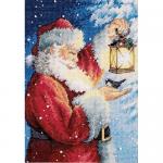 "Набор для вышивания ""Пернатый друг Деда Мороза"" ""Dimensions"""