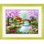 "Набор для вышивания ""Японский сад"" ""Dimensions"" (США)"