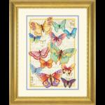"""Набор для вышивания """"Красота бабочек"""" """"Dimensions"""" (США)"""