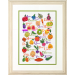 """Набор для вышивания """"Фрукты и овощи"""" """"Dimensions"""" (США)"""
