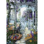 """Набор для вышивания """"Калитка в саду"""" """"Dimensions"""""""