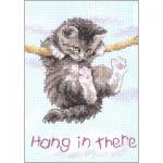"""Набор для вышивания """"Повисший котенок"""" """"Dimensions"""" (США)"""