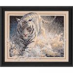 """Набор для вышивания """"Белый тигр"""" """"Dimensions"""""""