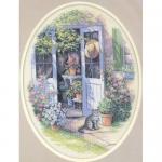"""Набор для вышивания """"Дверь в сад"""" """"Dimensions"""""""