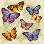 """Набор для вышивания """"Изобилие бабочек"""" """"Dimensions"""""""