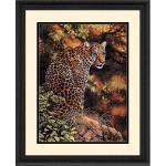 "Набор для вышивания ""Взгляд леопарда"" ""Dimensions"""