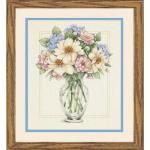 """Набор для вышивания """"Цветы в высокой вазе"""" """"Dimensions"""""""