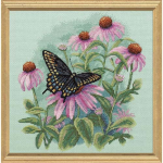"""Набор для вышивания """"Бабочка и ромашки"""" """"Dimensions"""""""