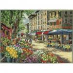 """Набор для вышивания """"Рынок в Париже"""" """"Dimensions"""""""
