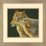 """Набор для вышивания """"Поцелуй волка"""" """"Dimensions"""" (США)"""