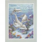 """Набор для вышивания """"Дельфиний край"""" """"Dimensions"""""""