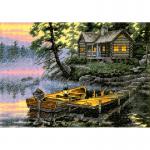 "Набор для вышивания ""Утро на озере"" ""Dimensions"""