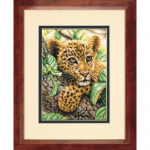 """Набор для вышивания """"Молодой леопард"""" """"Dimensions"""" (США)"""