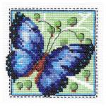 """Набор для вышивания """"Бабочка синяя"""" """"Кларт"""""""