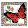 """Набор для вышивания """"Бабочка бордовая"""" """"Кларт"""""""
