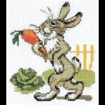 """Набор для вышивания """"Зайка с морковкой"""" """"Кларт"""""""
