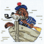 """Набор для вышивания """"Пес морячок"""" """"Кларт"""""""