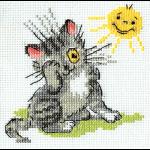 """Набор для вышивания """"Котенок и солнышко"""" """"Кларт"""""""