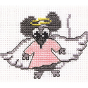 """Набор для вышивания """"Мышка-ангел"""" """"Кларт"""""""