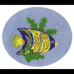 """Набор для вышивания бисером """"Рыбка-ангел"""" """"Кларт"""""""