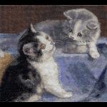 """Набор для вышивания """"Друзья - котята"""" """"Кларт"""""""